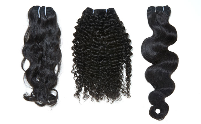 three bundles of hair on sale